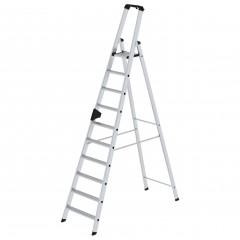 Günzburger Stehleiter mit ergo-pad 10 Stufen
