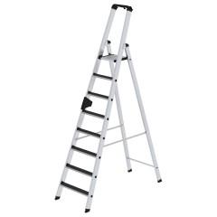 Günzburger Stehleiter mit clip-step R13 8 Stufen