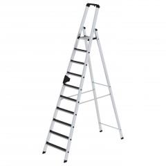 Günzburger Stehleiter mit clip-step R13 10 Stufen