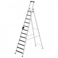 Günzburger Stehleiter mit clip-step R13 12 Stufen