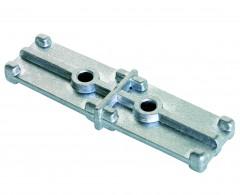 Günzburger Steigleiterverbinder 200mm Aluminium