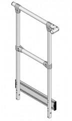 Günzburger Stirnseitiges Geländer passend für Stufenbreite 600mm