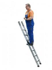 Günzburger Anlegeleiter mit relax-step 10 Stufen