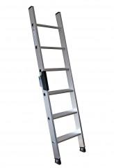 Günzburger Stufenanlegeleiter mit Ergo-Pad 8 Stufen