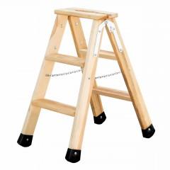 Günzburger Holz Stufen-Stehleiter 2x3 Stufen