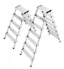Hailo L90 Doppelstufenleiter