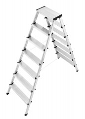 Hailo L90 Doppelstufenleiter 2x7 Stufen