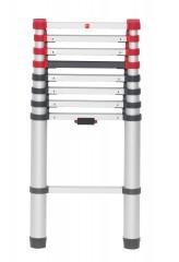 Hailo FlexLine Sicherheits-Teleskopleiter 9 Sprossen