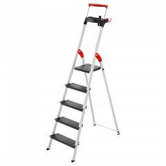 Hailo L100 TopLine Stehleiter 5 Stufen