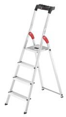 Hailo L60 Standardline Stehleiter 4 Stufen