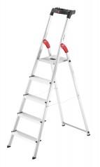 Hailo L60 Standardline Stehleiter 5 Stufen