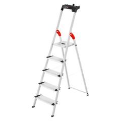 Hailo L80 ComfortLine Stehleiter 5 Stufen