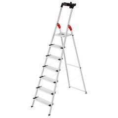 Hailo L80 ComfortLine Stehleiter 7 Stufen