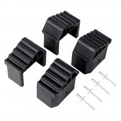 Hailo Fuß-Set 4 Stück für Leiter M80/MTL