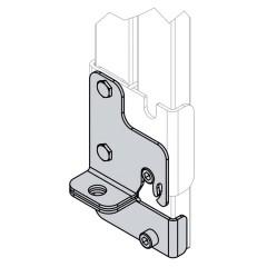 Hailo Erweiterungsset, Rastfunktion für Schiebebeschlagset A4 für Holm 40x20mm