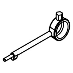 Hailo Bedienschlüssel für Schachtabdeckung HS7 + HS9 (C)