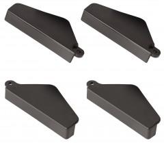 Hailo Scharnierstufen-Abdeckungen 4 Stück für Hailo D60 / L90