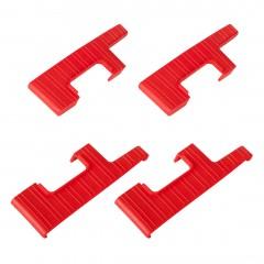 Hailo Stufenabschlüsse rechts & links 4 Stück für ChampionsLine XXR 225 / L90 225 mit 13 Stufentiefe 130mm