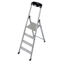 Krause Solido Stufenstehleiter 4 Stufen