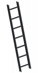 Layher 1051 Dachleiter anthrazitgrau 7 Sprossen