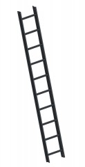 Layher 1051 Dachleiter anthrazitgrau 10 Sprossen