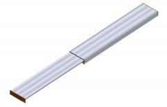 Layher 1351 Alu Telesteg bis 290cm Länge