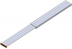 Layher 1351 Alu Telesteg bis 350cm Länge