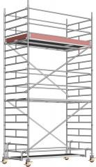 Layher Rollgerüst Uni Breit P2 6,20m AH