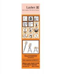 Layher Universal-Etikett