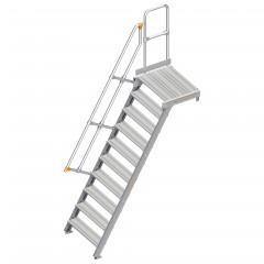 Layher 112 Treppe mit Plattform 60°