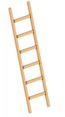 Layher 1052 Holzanlegeleiter 6 Sprossen