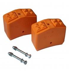 Layher Leiterschuhe für Holzleiter 65x25mm - Paar