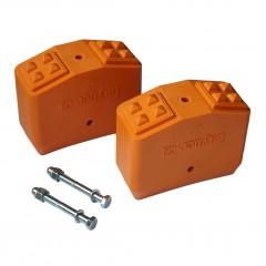 Layher Leiterschuhe für Holzleiter 70x25mm - Paar