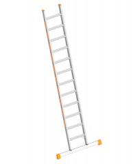 Layher Topic 1042 Stufenanlegeleiter mit Quertraverse 12 Stufen