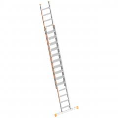 Layher Topic 1032 Stufenschiebeleiter 2x14 Stufen
