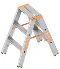 Layher Topic 1043 Stufenstehleiter 2x3 Stufen