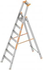 Layher Topic 1064 Stufenstehleiter 7 Stufen