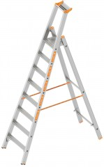 Layher Topic 1064 Stufenstehleiter 8 Stufen