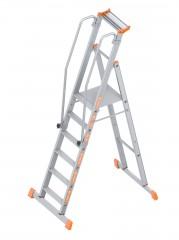 Layher Topic 1074 Plattformleiter 6 Stufen