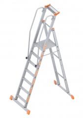Layher Topic 1074 Plattformleiter 7 Stufen