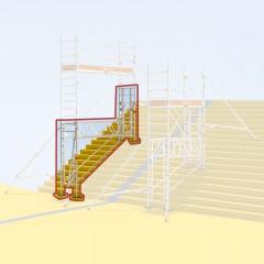 Layher Uni Standard Erweiterung Treppen-Kit
