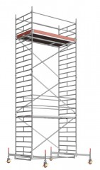 Layher Rollgerüst Uni Breit 8,38m AH
