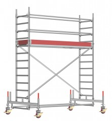 Layher Rollgerüst Uni Standard 4,35m AH