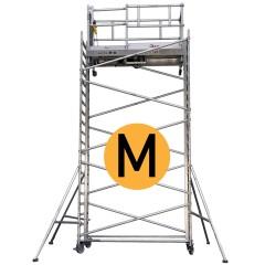 Lockhard Fahrgerüst Alulift M elektrisch höhenverstellbar