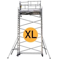 Lockhard Fahrgerüst Alulift XL elektrisch höhenverstellbar