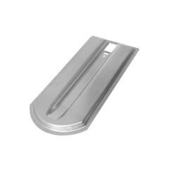 Metalldachplatte Biber als Unterlegplatte für Biberschwanzziegel 18x38cm