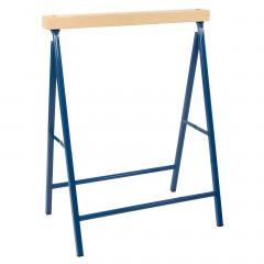 Metall-Klappbock mit Holzauflage