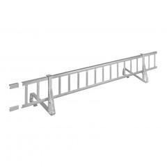 Schneefanggitter-Set, 1,5m lang, 7-teilig, max. 200kg/m Stützlast