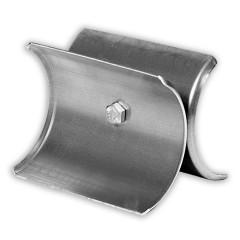 Schneestopper/Eishalter für Stehfalzdächer mit Schraub-Montage