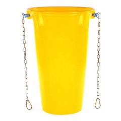 Schuttrutsche Rohr gelb / 5,0-5,5 mm
